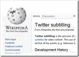 Twitter subtitling, the three E's: Embed, embed, embed