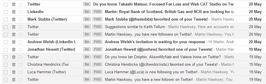Creating a 'full fat' RSS feed for Google Gmail labels (enabling some dark social judo)