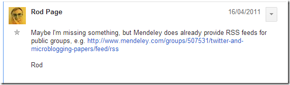 Mendeley have some, but not telling you