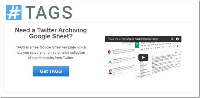 Need a better Twitter Archiving Google Sheet? TAGS v6.0 is here!