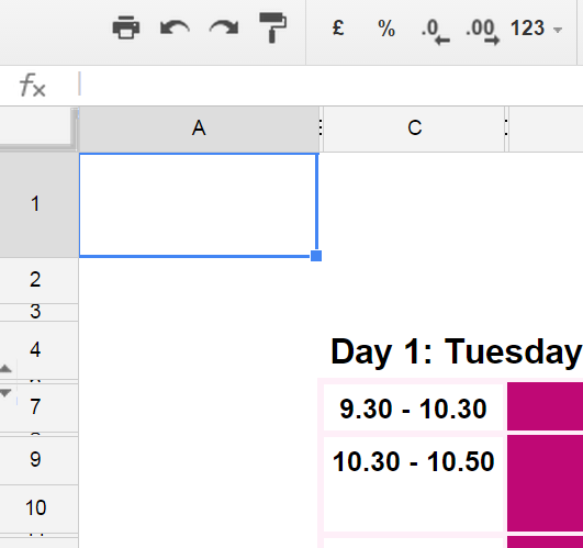 Batch Changing Google Sheet Cell Background Colours With Google Apps