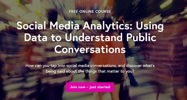 Social Media Analytics: Using Data to Understand Public Conversations (course feat. TAGS) #FLsocmed