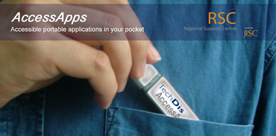AccessApps: Portable assistive technology on a USB flash drive
