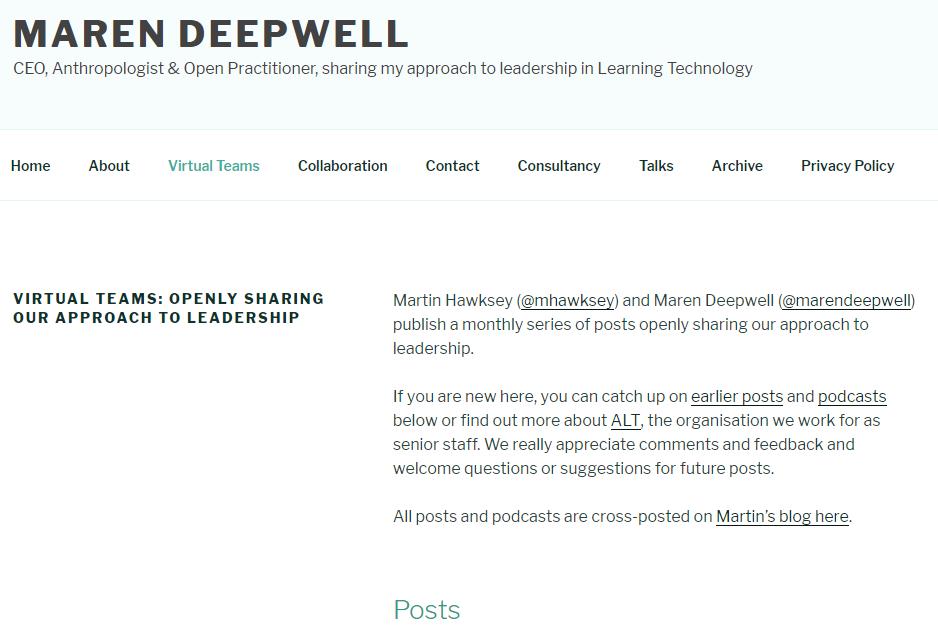 Maren's Blog